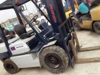 Used Japan Komatsu Forklift, FD30