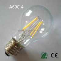 LED FILAMENT LAMP A60C-4 with CE and ROHS