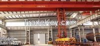 Derrick electromagnetic bridge crane