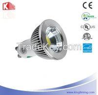 COB LED Spotlight GU10 Aluminium profile 5W/6W/7W CE, RoHS, UL, ETL Energy Star certification
