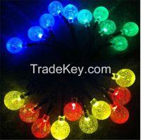 20LED Solar Bubble Ball String Light Outdoor Garden LED Lamps Solar Power Panel Christmas Party Festival Decoration LED