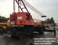 used IHI 40tons lattice boom truck crane