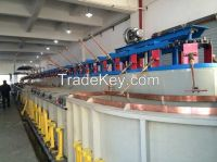 Fishing Type Automatic-Rack Plating Production Line.Climbing Plating Production Line