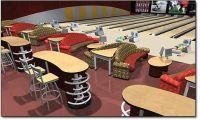 Captivating Bowling Furniture