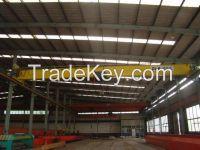 Lightweight and automation type electric single girder bridge crane
