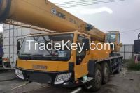 USED 2011 YEAR XCMG QY70K TRUCK /MOBILE CRANE /USED 70TONS CRANE