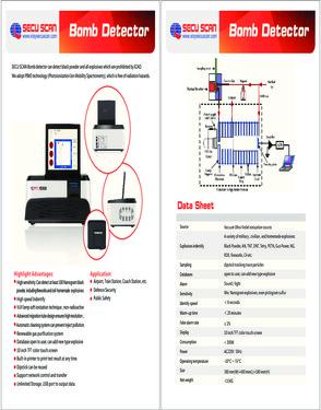 HD600 Bomb Detector SECU SCAN