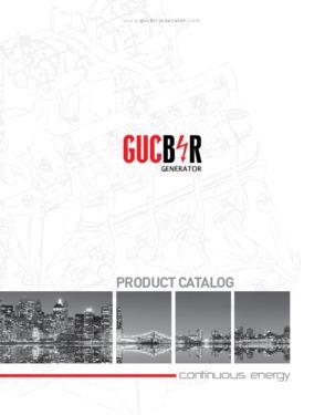 Gucbir Generator GJW 450 - 450 kVA