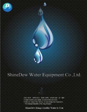 6000L/H RO pure water treatment equipment