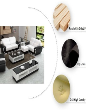 Modern Living Room Sets Shelton Leather Loveseat Sectional Sofa