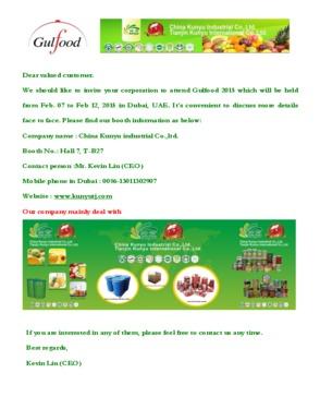 Tianjin Kunyu International CO., Ltd