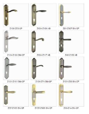 Mortise door lock Z134-Z117AB