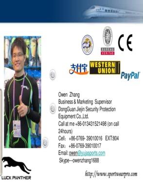 Dongguan Jiejin Security Protection Equipment Co., ltd