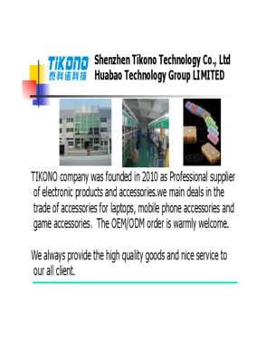 Shenzhen Tikono Technology Co., ltd