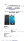 Smartphone Touch Screen LCD