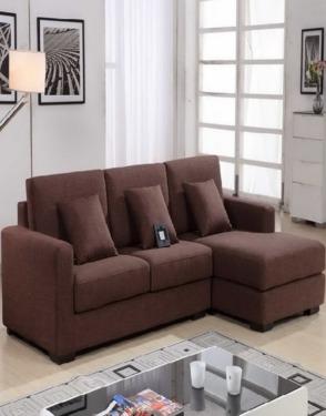Denmark Golden Quality Fabric Corner Sofa Furniture