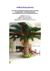 artificial  date palm  tree