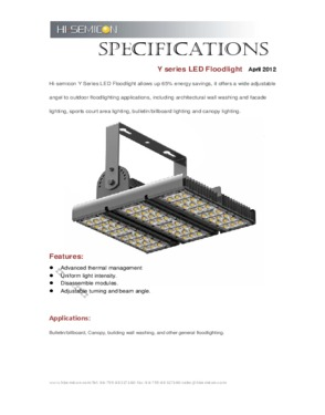 120W LED Architectural Light
