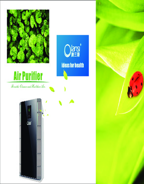 Ionizer air cleaner air purifier hepa filter