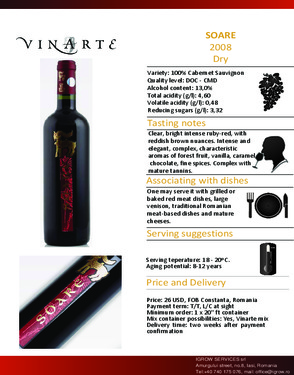 Romanian Noble Wine