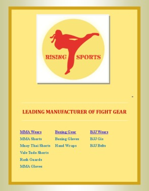 Rising Sports Company