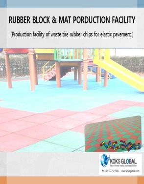 Rubber Chips And Rubber Mat for playground facility