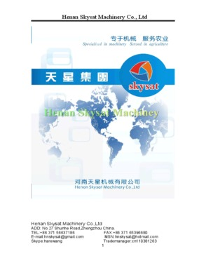 Henan Skysat Machinery Co., Ltd