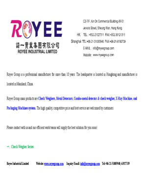 ROYEE INDUSTRIAL LIMITED