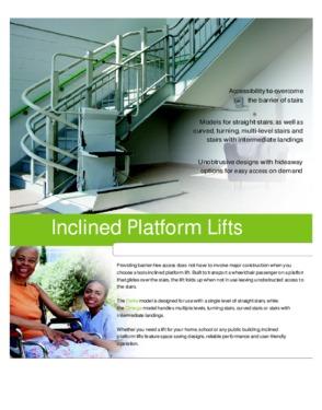 platform lift , Stair lift