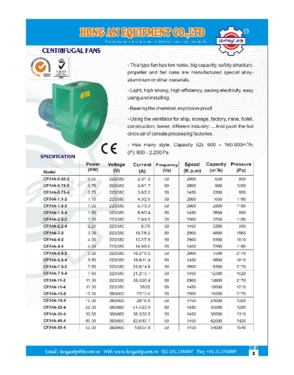 Hong An Equipment Co., ltd