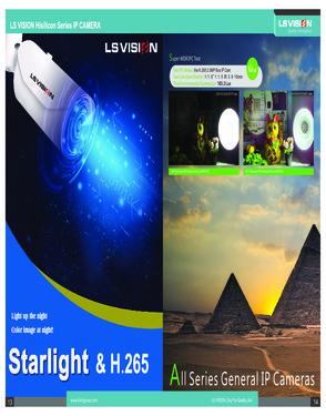 IP Camera 4 mega pixel LS-ZD3400D