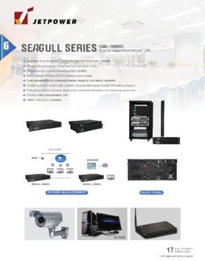 1U/2U Rack Line Interactive Smart UPS