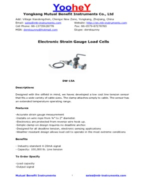 Electronic Load Cells