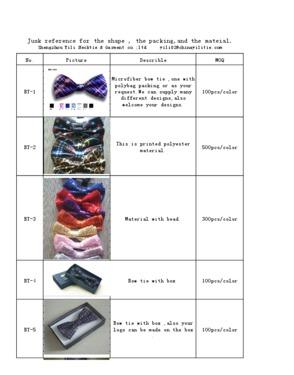 Fashion Polyester  Bowtie
