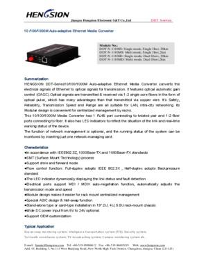 1000M IP Ethernet Media Converters Over Fiber