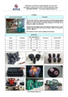 BBQ charcoal briquette machine for different shapes