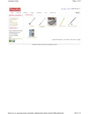 mop stick  mop handles