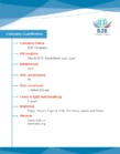 B2B company Qualification