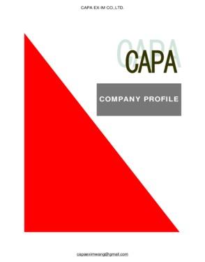 CAPA EX-IM CO, .LTD