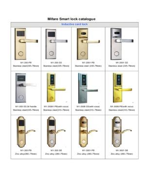 Mifare Card Lock
