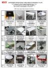 Kingkonree 70x70cm solid surface dining table designs