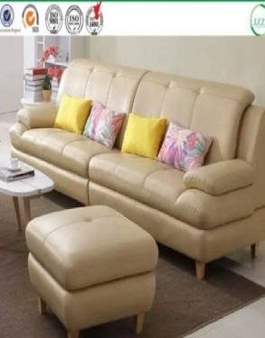Nordic Style Small Leather Sectional Sofa