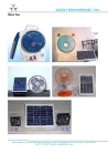 Rechargeable Solar Fan
