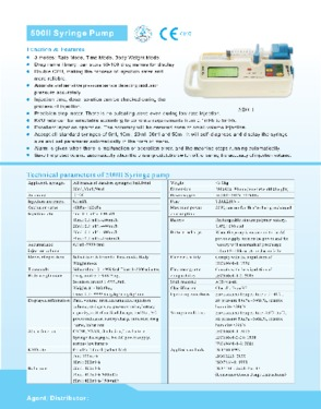 Hot sales! Portable syringe pump with ce certificate
