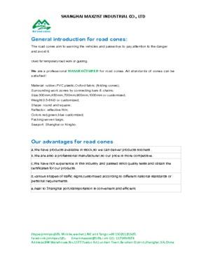 white blue flexible square road cone, white blue flexible square traffic cone