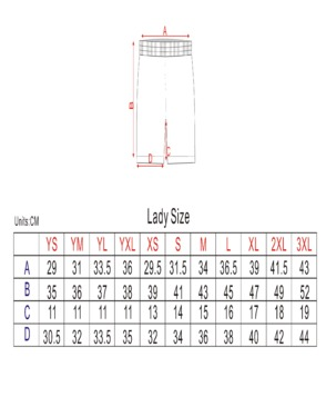 custom design lax reversible and shorts for ladies