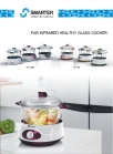 far infrared healthy glass cooker