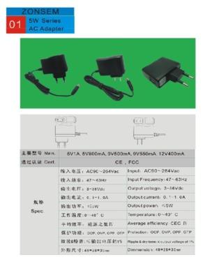 36W series AC adapter
