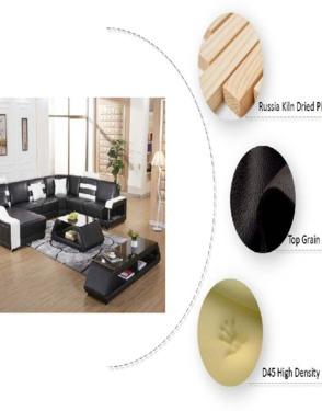 Miami Modern Designer Leather Couch Sofa