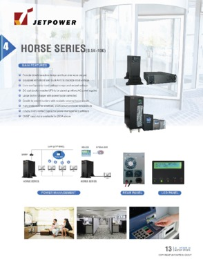 Line Interactive 1kVA UPS Low Frequency Single Phase